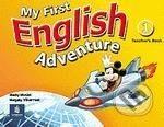 Pearson, Longman My First English Adventure 1 - Mady Musiol, Magaly Villarroel cena od 844 Kč