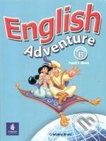 Pearson, Longman English Adventure - Starter B - cena od 287 Kč