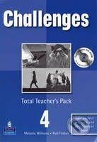 Pearson, Longman Challenges 4 - Patricia Mugglestone cena od 638 Kč