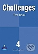 Pearson, Longman Challenges 4 - Patricia Mugglestone cena od 193 Kč