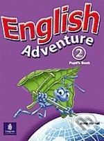 Pearson, Longman English Adventure 2 - Anne Worrall cena od 291 Kč