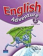 Pearson, Longman English Adventure 2 - Anne Worrall cena od 206 Kč