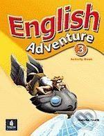 Pearson, Longman English Adventure 3 - Izabella Hearn cena od 206 Kč