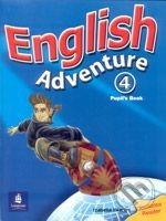 Pearson, Longman English Adventure 4 - Izabella Hearn cena od 291 Kč