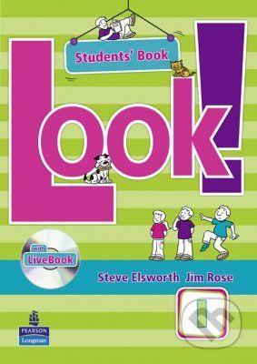 Pearson, Longman Look! 1 - Student's LiveBook - Steve Elsworth, Jim Rose cena od 414 Kč