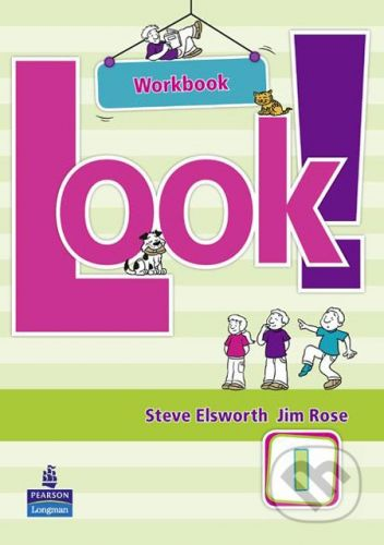 Pearson, Longman Look! 1 - Steve Elsworth cena od 179 Kč