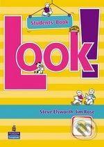 Pearson, Longman Look! 3 - Steve Elsworth cena od 346 Kč