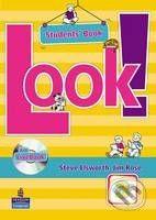 Pearson, Longman Look! 3 - Student's LiveBook - Steve Elsworth, Jim Rose cena od 414 Kč