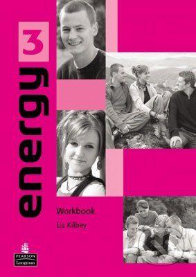 Pearson, Longman Energy 3 - Liz Kilbey cena od 236 Kč
