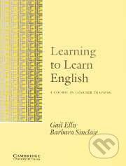 Cambridge University Press Learning to Learn English - Gail Ellis, Barbara Sinclair cena od 525 Kč