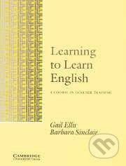 Cambridge University Press Learning to Learn English - Gail Ellis, Barbara Sinclair cena od 557 Kč