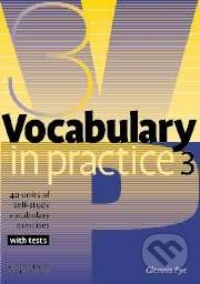 Cambridge University Press Vocabulary in Practice 3 - Pre-Intermediate - Glennis Pye cena od 117 Kč