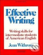 Cambridge University Press Effective Writing - Jean Withrow cena od 528 Kč