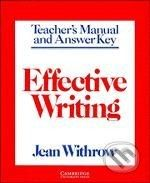 Cambridge University Press Effective Writing - Jean Withrow cena od 708 Kč