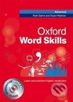 Redman S. Gairns R.: Oxford Word Skills Advanced: Student´S Pack (Book + Cd-Rom) cena od 368 Kč