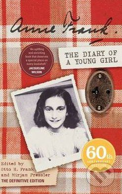 Penguin Books The Diary of a Young Girl: The Definitive Edition - Anne Frank cena od 218 Kč