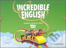 Oxford University Press Incredible English 3 & 4 - Sarah Phillips cena od 1 128 Kč