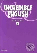 Oxford University Press Incredible English 5 - Sarah Phillips cena od 417 Kč