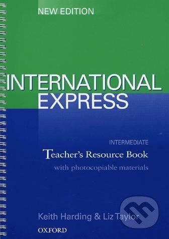 Oxford University Press International Express - Intermediate - Keith Harding, Liz Taylor cena od 555 Kč