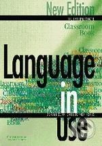 Cambridge University Press Language in Use - Pre-Intermediate - A. Doff, C. Jones cena od 406 Kč