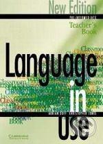 Cambridge University Press Language in Use - Pre-Intermediate - A. Doff, C. Jones cena od 587 Kč