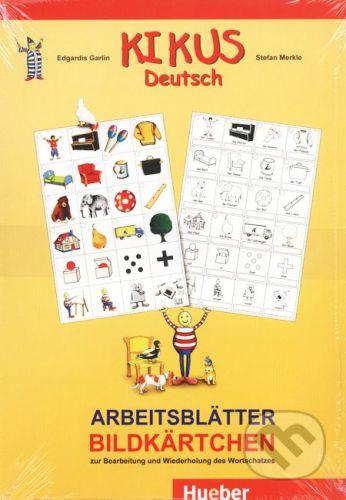 Max Hueber Verlag Kikus - Arbeitsblätter Bildkärtchen - cena od 132 Kč