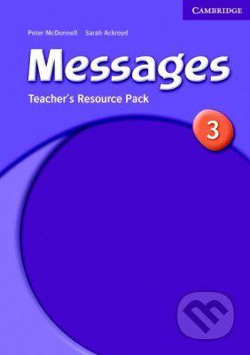 Cambridge University Press Messages 3 - Sarah Ackroyd cena od 609 Kč
