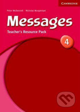 Cambridge University Press Messages 4 - Peter McDonnell cena od 609 Kč
