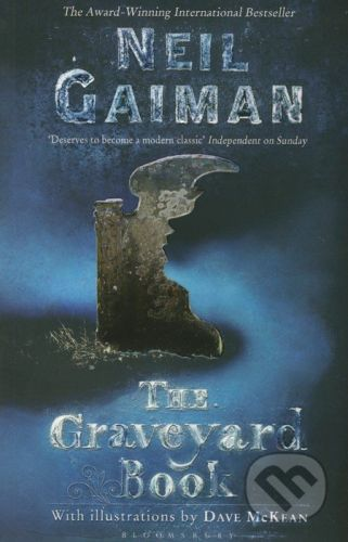 XXL obrazek Bloomsbury The Graveyard Book - Neil Gaiman