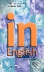 Oxford University Press In English - Pre-Intermediate - Peter Viney cena od 295 Kč