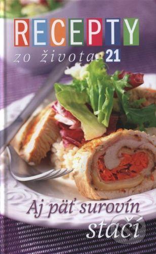 RINGIER Slovakia Recepty zo Života 21 - cena od 217 Kč