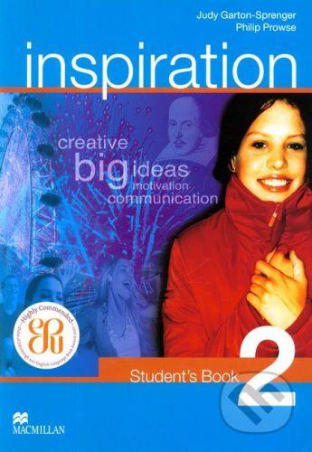 MacMillan Inspiration 2 - Judy Garton-Sprenger, Philip Prowse cena od 332 Kč