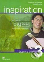 MacMillan Inspiration 3 - Judy Garton-Sprenger, Philip Prowse cena od 316 Kč
