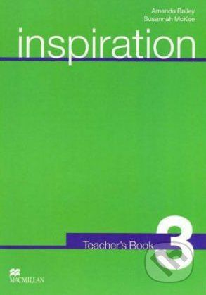 MacMillan Inspiration 3 - Judy Garton-Sprenger, Philip Prowse cena od 832 Kč