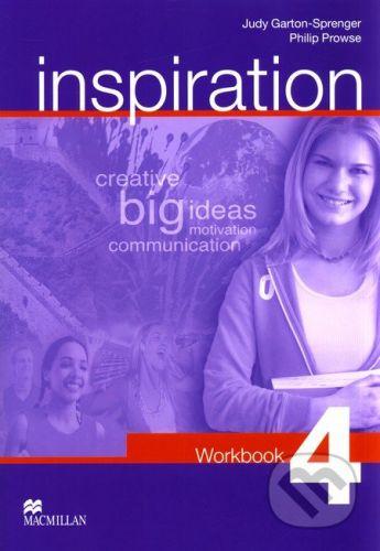 MacMillan Inspiration 4 - Judy Garton-Sprenger, Philip Prowse cena od 222 Kč