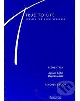 Cambridge University Press True to Life - Elementary - S. Slater, S. Haines cena od 684 Kč
