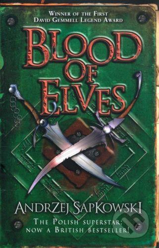 Orion Blood of Elves - Andrzej Sapkowski cena od 179 Kč