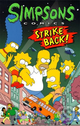 Titan Books Simpsons Comics - Strike Back - Matt Groening cena od 284 Kč