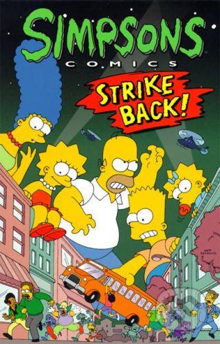 Titan Books Simpsons Comics - Strike Back - Matt Groening cena od 294 Kč