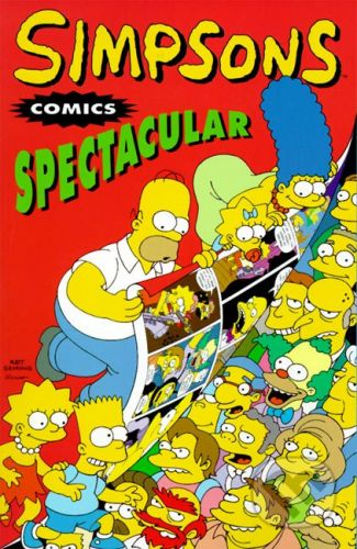 Titan Books Simpsons Comics Spectacular - Matt Groening cena od 158 Kč