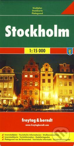 freytag&berndt Stockholm 1:15 000 - cena od 155 Kč