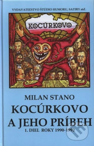 Vydavateľstvo Štúdio humoru a satiry Kocúrkovo a jeho príbeh - Milan Stano cena od 126 Kč