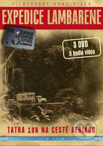 Expedice Lambarene 1.- 3. - 3 DVD - digipack v šubru cena od 249 Kč