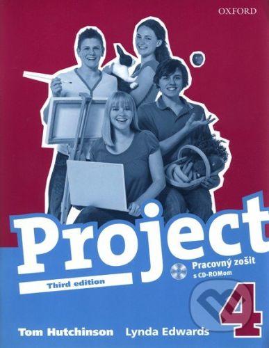 Oxford University Press Project 4 - Pracovný zošit s CD ROMom - T. Hutchinson, L. Edwards cena od 179 Kč