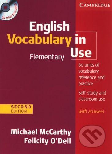 Cambridge University Press English Vocabulary in Use - Elementary (+CD) - Michael McCarthy, Felicity O'Dell cena od 572 Kč