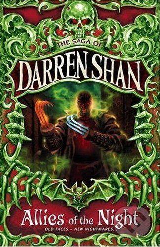 HarperCollins Publishers The Saga of Darren Shan 8: Allies of the Night - Darren Shan cena od 206 Kč