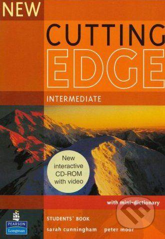Pearson, Longman New Cutting Edge - Intermediate - Sarah Cunningham, Peter Moor cena od 477 Kč
