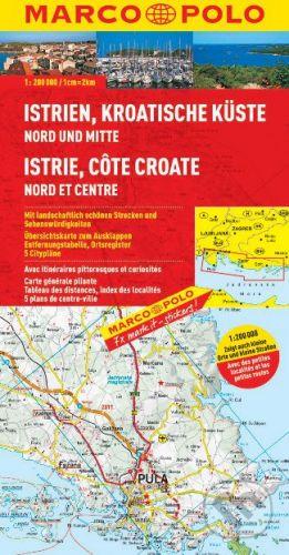 Istrie,C horvatské pobřeží sever a střed cena od 146 Kč