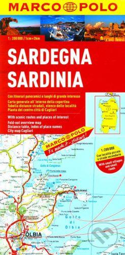 MAIRDUMONT Sardinien, Sardaigne 1:200 000 - cena od 0 Kč