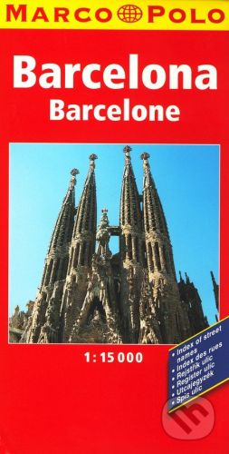 Barcelona 1:15 000 cena od 169 Kč